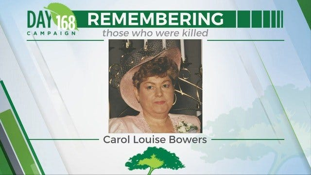 168 Days Campaign: Carol Louise Bowers