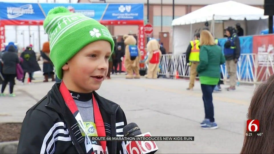 Route 66 Marathon Introduces 1st 'Kicks For Kids' Run