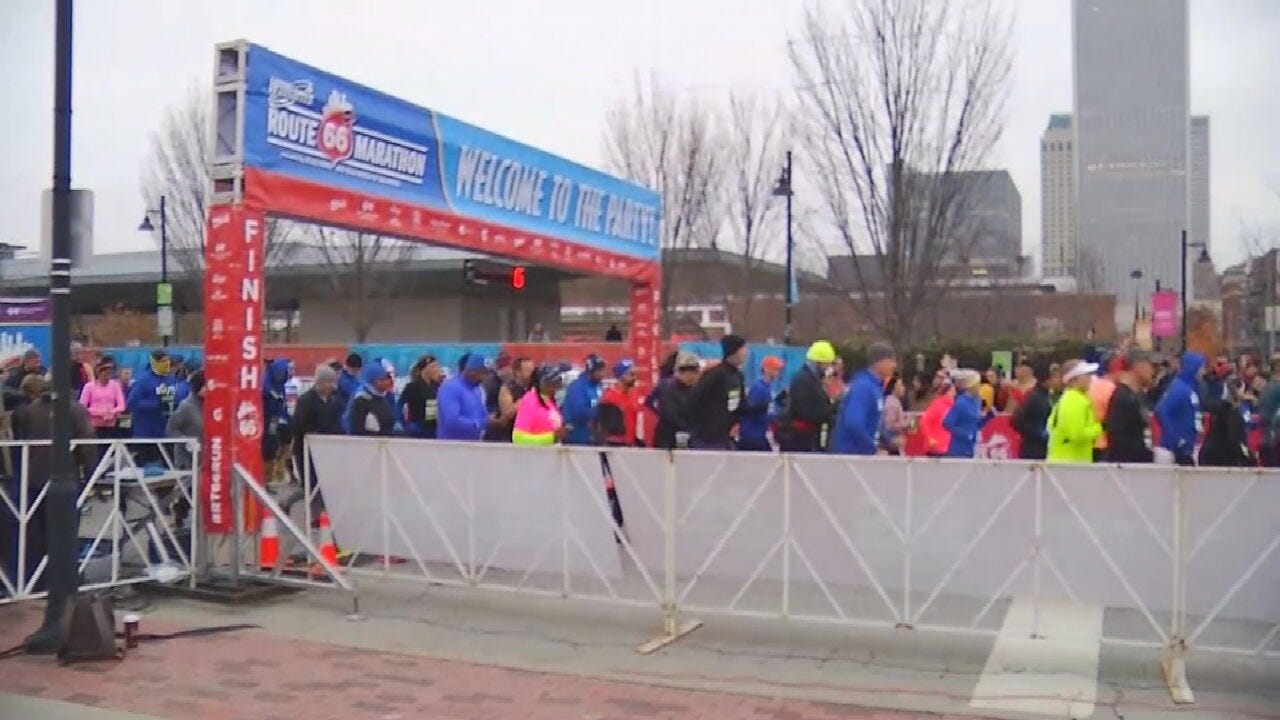 Route 66 Marathon Begins With 5K And Fun Run