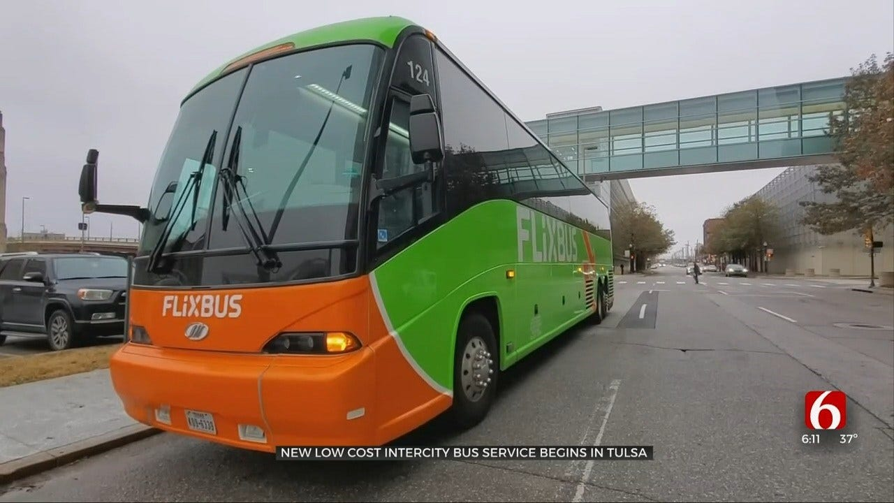 New Low Cost Intercity Bus Service Begins In Tulsa