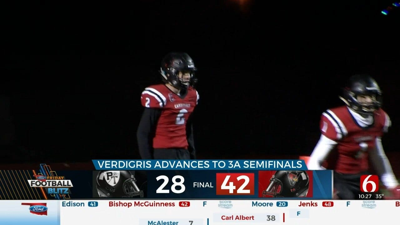 Verdigris Takes Down Perkins-Tyron To Move Further Into Playoffs