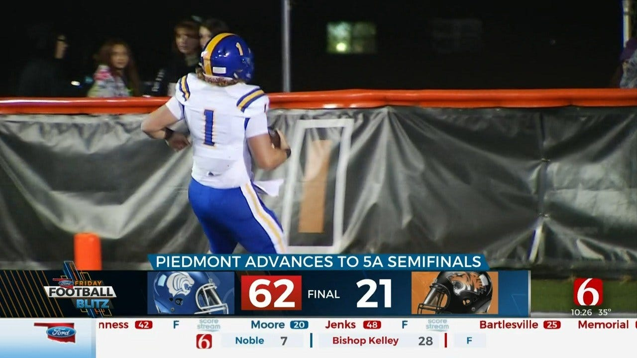 Piedmont Advances After Big Win Over Coweta