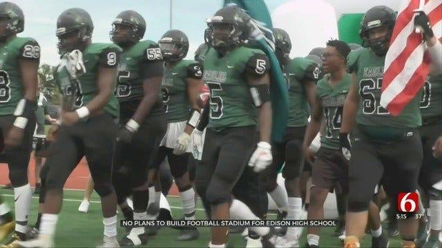 Tulsa Edison High School Unlikely To Ever Have Football Stadium