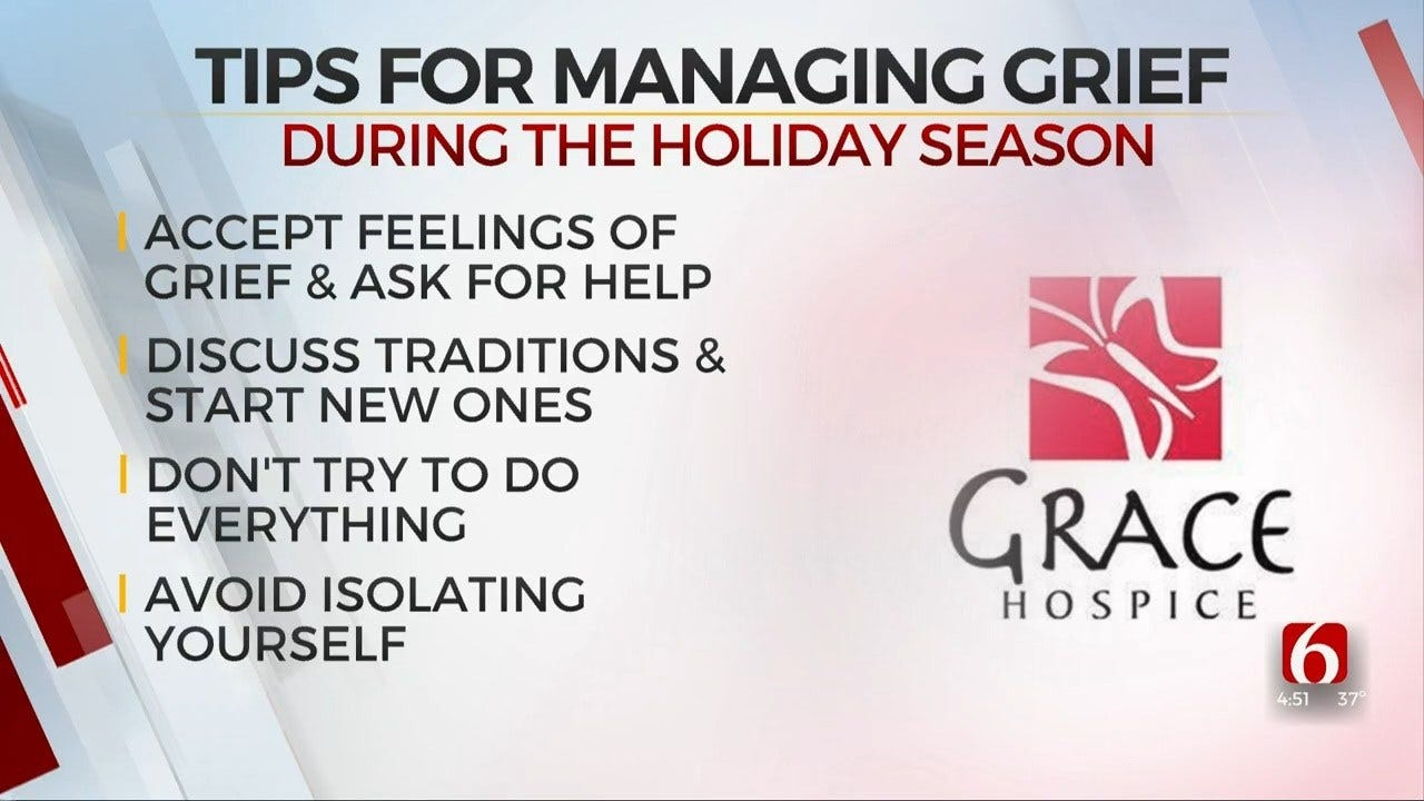 How To Manage Grief During The Holidays