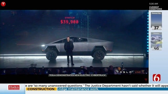 Tesla Unveils New Cybertruck, It Doesn't Go As Planned