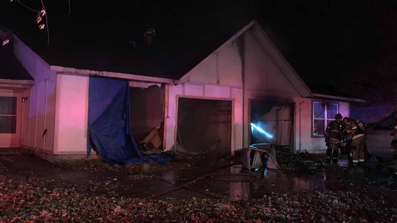 Woman Taken To The Hospital After Tulsa Duplex Fire
