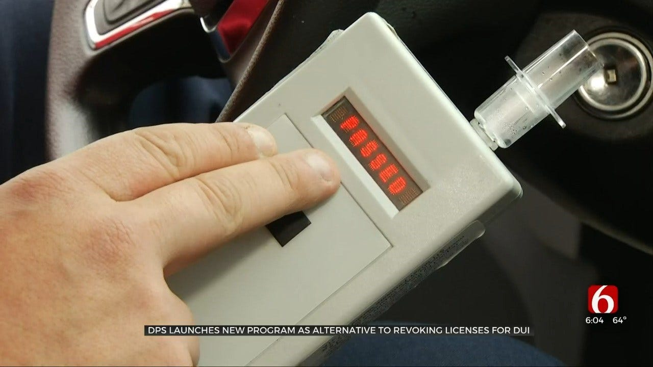 DPS Creates Alternative To Revoking License For DUI