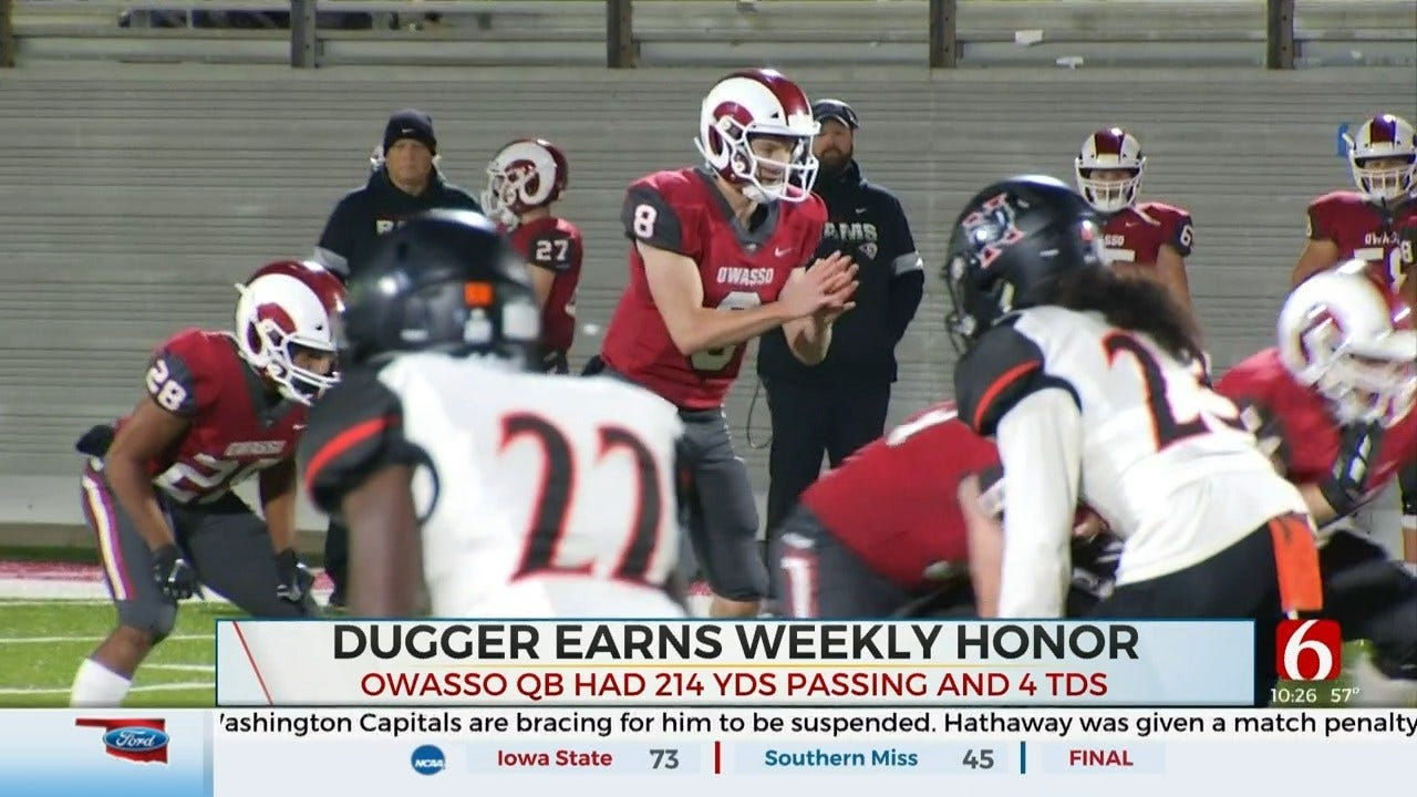 Primeaux Mitsubishi Athlete Of The Week: Cole Dugger