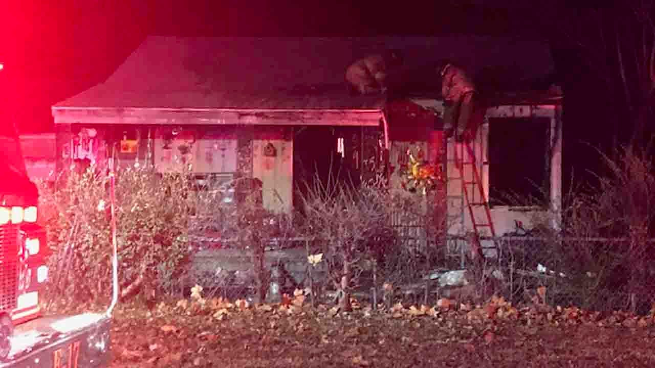 Family's Dog Dies In Tulsa House Fire