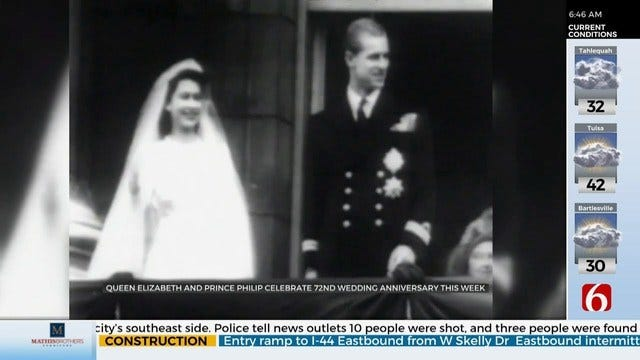 Queen Elizabeth II, Prince Phillip To Celebrate 72nd Wedding Anniversary