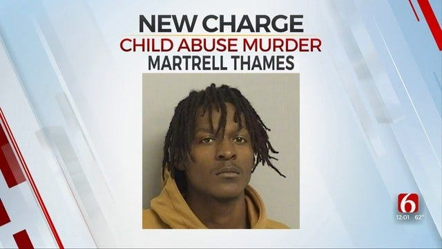 Tulsa Man To Be Charged With Murder After Infant Dies