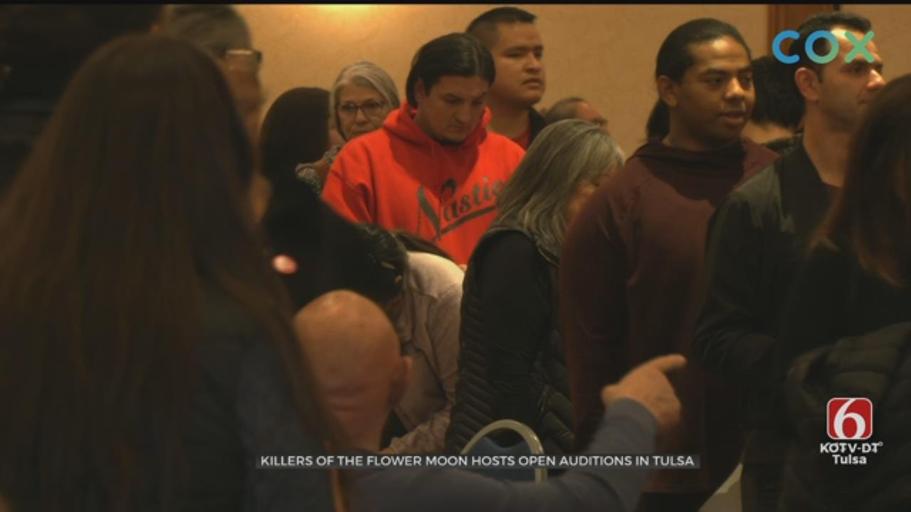 Killers Of The Flower Moon Open Casting Calls Held In Tulsa