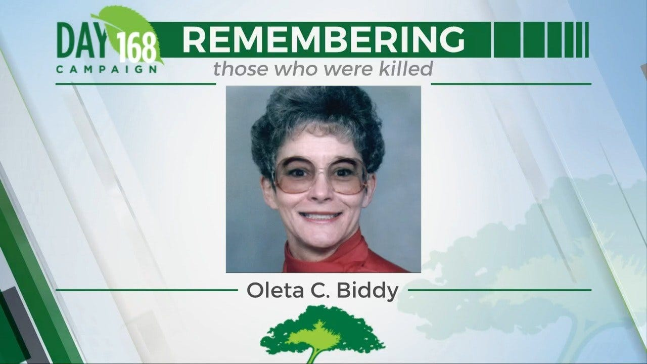 168 Day Campaign: Oleta C. Biddy
