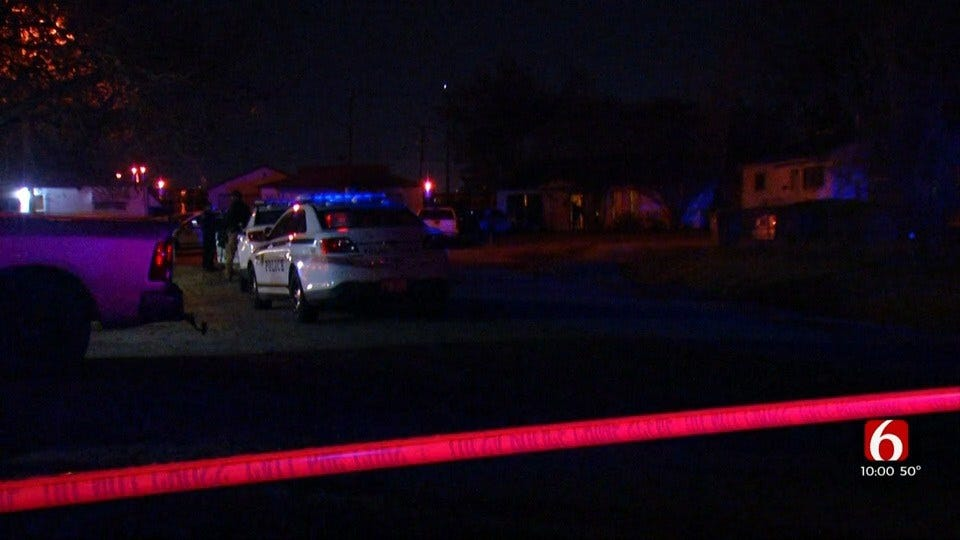 Tulsa PD: 1 Dead, 1 Wounded In Tulsa Shootout
