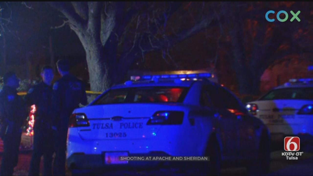 Tulsa PD: 1 Dead, 1 Wounded In Tulsa Shooting