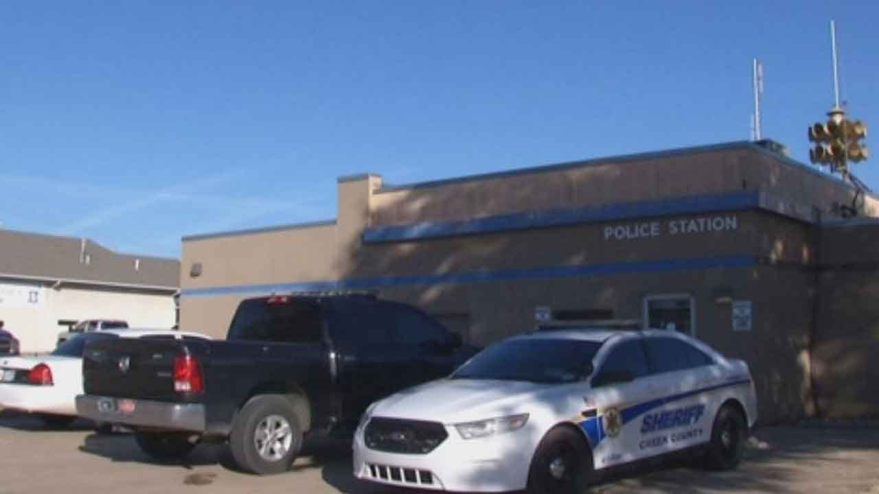 Law Enforcement Agencies Assist With Patrol As Mannford Officers Attend Police Chief's Funeral