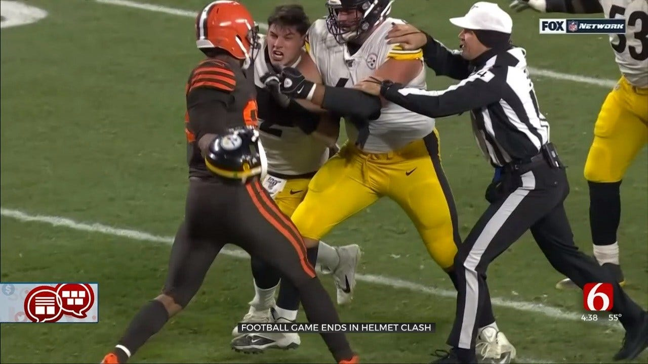Something To Talk About: OSU's Mason Rudolph Involved In NFL Brawl
