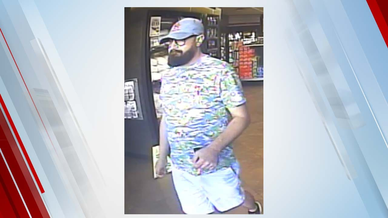 Tulsa Police Searching For Man Accused Of Using Cloned Credit Card