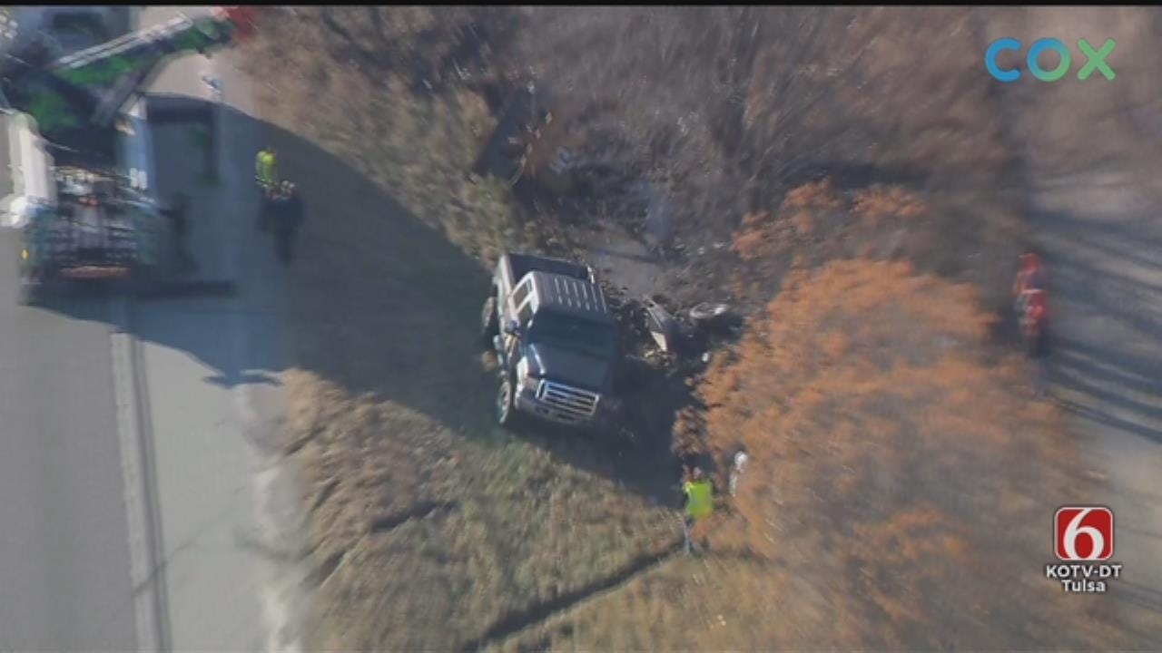 WATCH: Osage SkyNews 6 HD Flies Over 169 Rollover