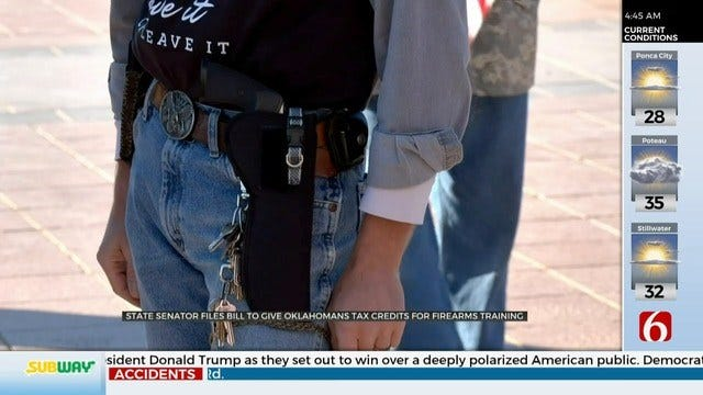 State Senator Wants To Give Tax Credit For Firearms Training