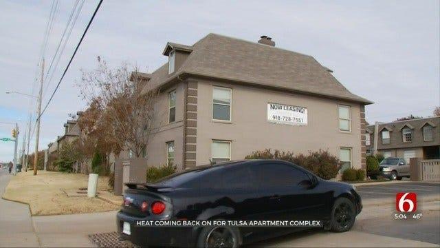 Heat Slowly Returning Tulsa's Chateau 68 Apartments