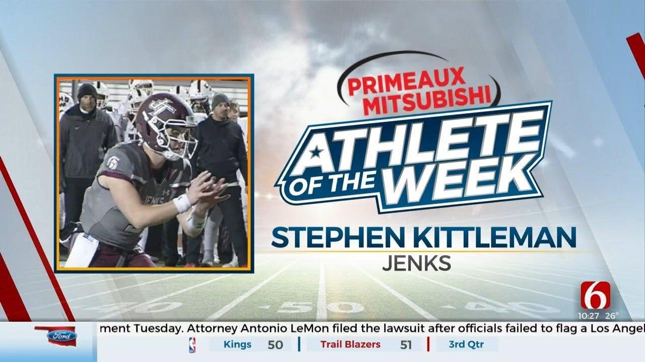 Primeaux Mitsubishi Athlete Of The Week: Stephen Kittleman