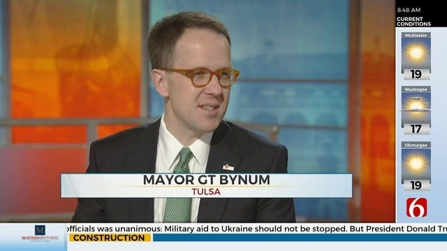 WATCH: Mayor G.T. Bynum Discusses Improve Our Tulsa