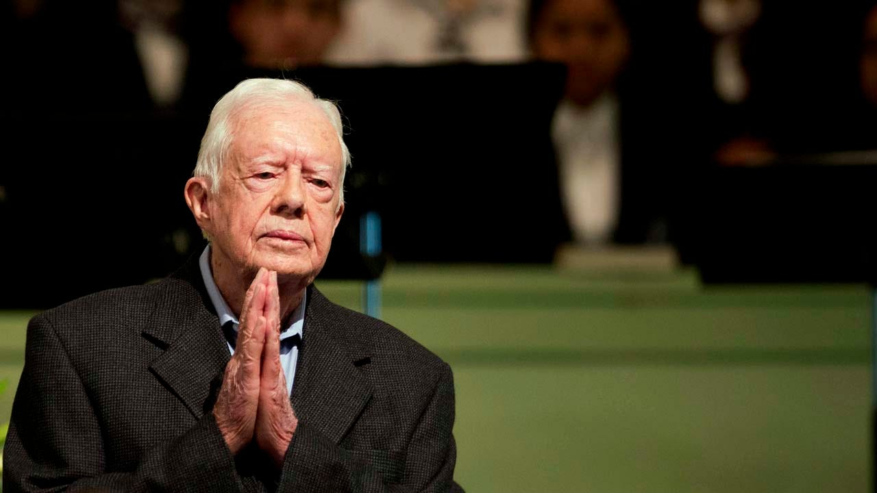 Former President Jimmy Carter Hospitalized To Relieve Pressure In Brain