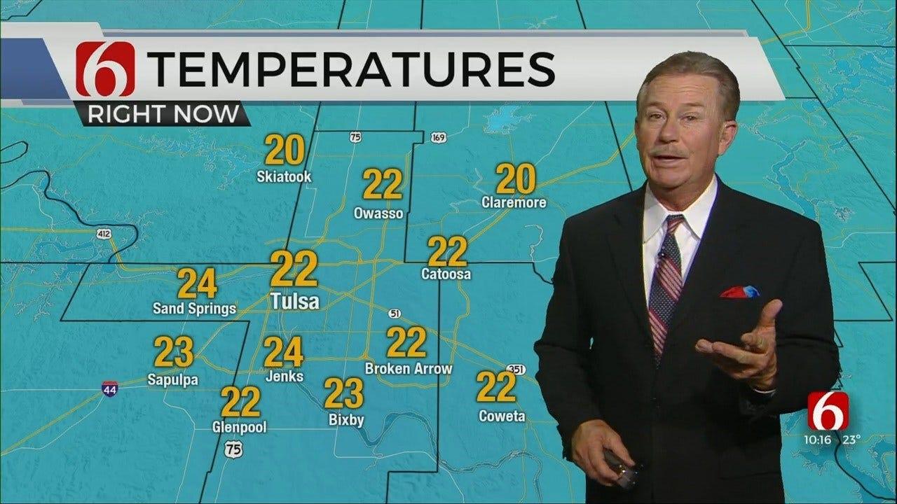 WATCH: Travis Meyer's Winter Weather Update At 10:20 PM
