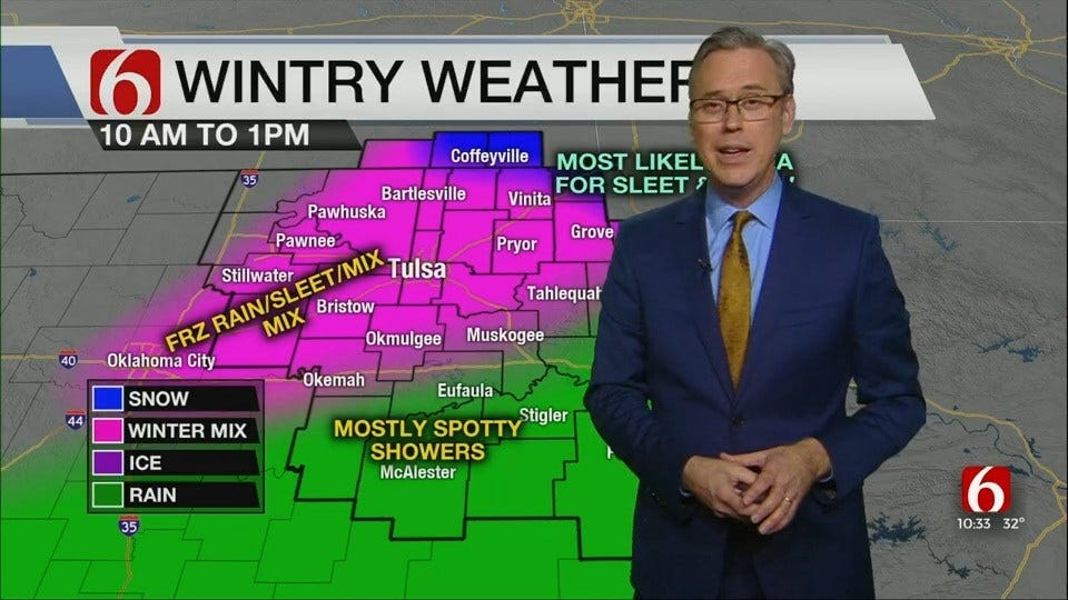 WATCH: Alan Crone's Winter Weather Report (10:30 a.m.)