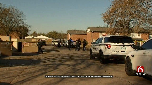 Tulsa Police Questioning Woman After Man Shot To Death At Apartment Complex