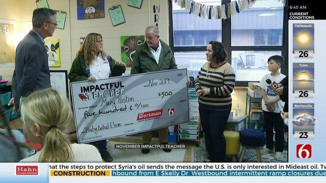 Bixby Educator Honored As 'Impactful Teacher'