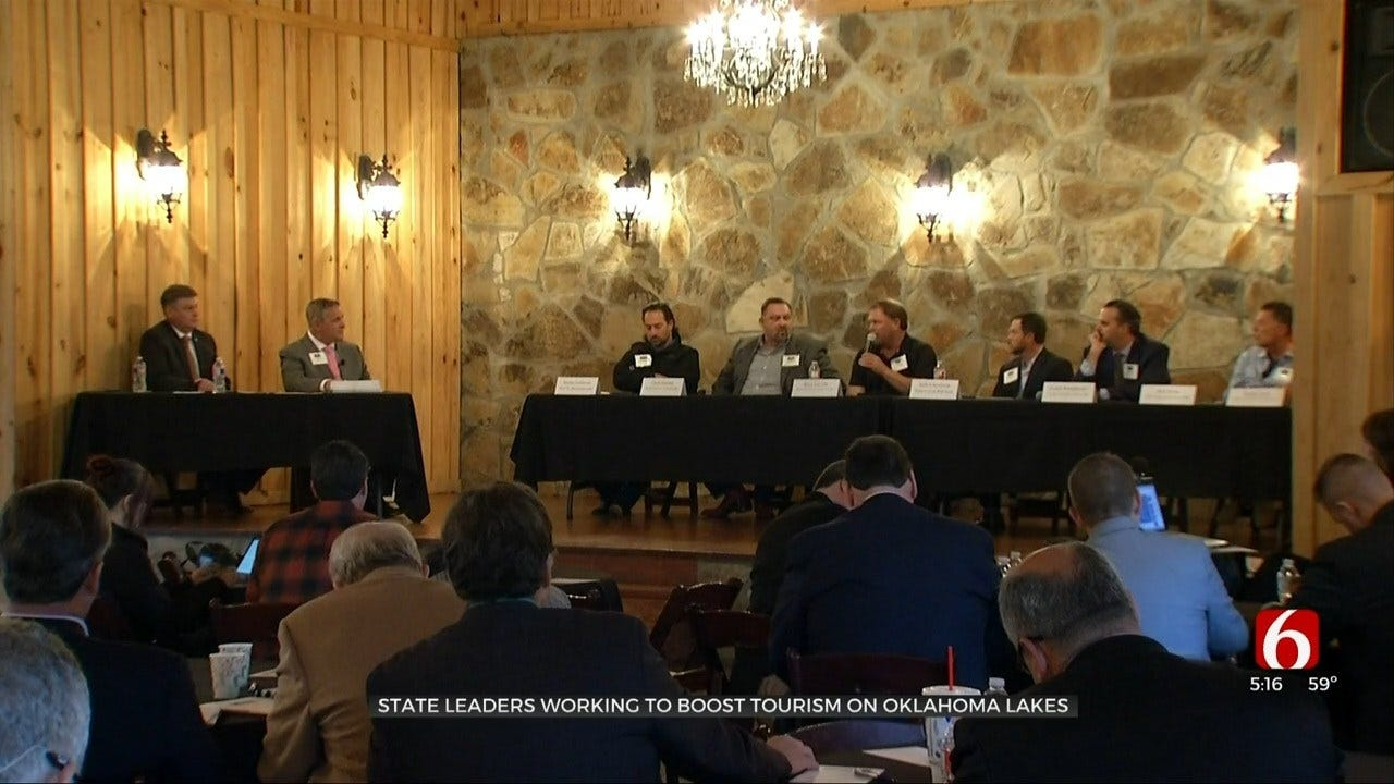 State Leaders Working To Boost Tourism On Oklahoma Lakes