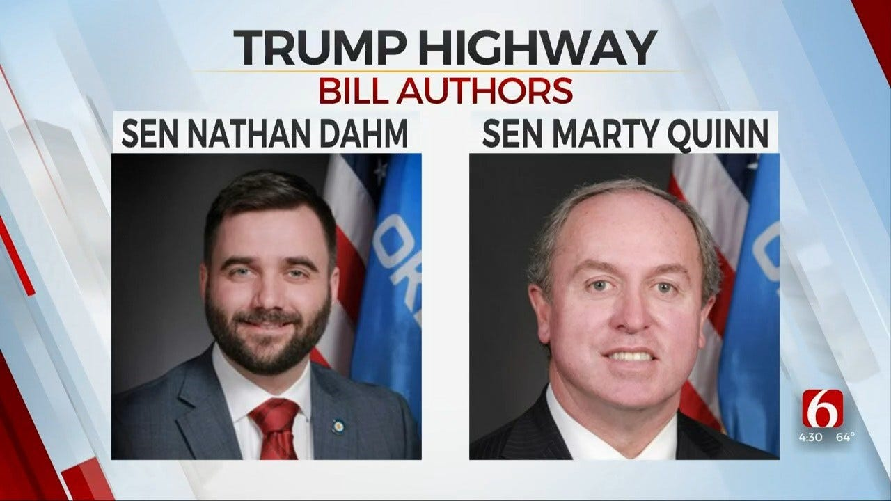 2 State Senators File Bill To Create President Donald J. Trump Highway