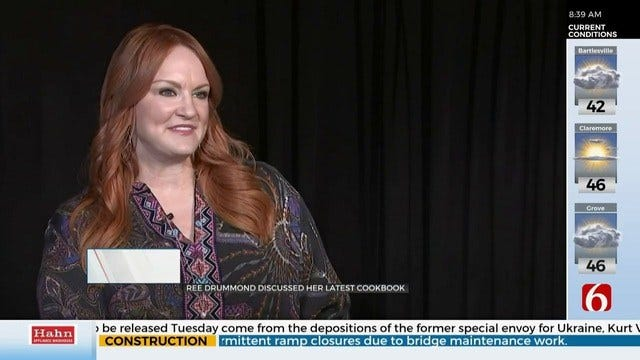 Pioneer Woman Ree Drummond Discusses Latest Cookbook