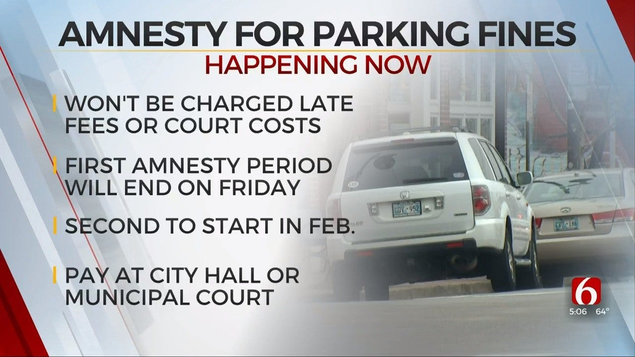 City Of Tulsa Still Offering Amnesty For Unpaid Traffic Tickets