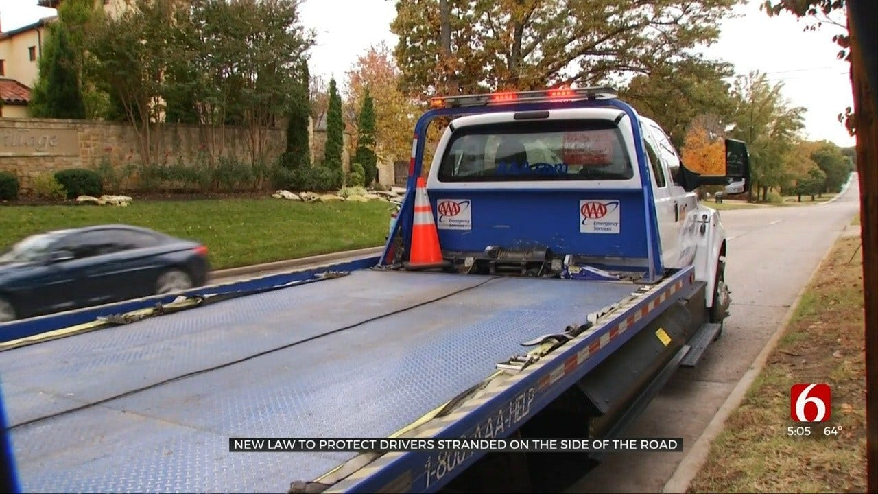 New State Law Aims To Protect Stranded Drivers