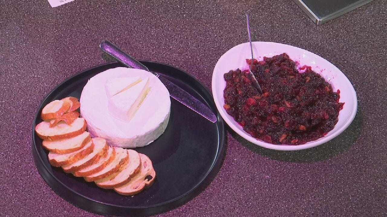 Cranberry Walnut Relish For March Of Dimes