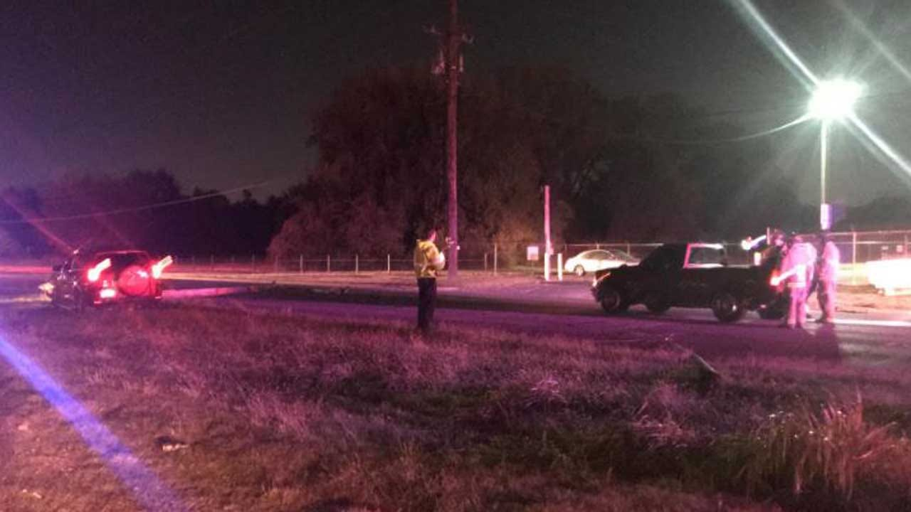 Power Lines Down After Tulsa Crash