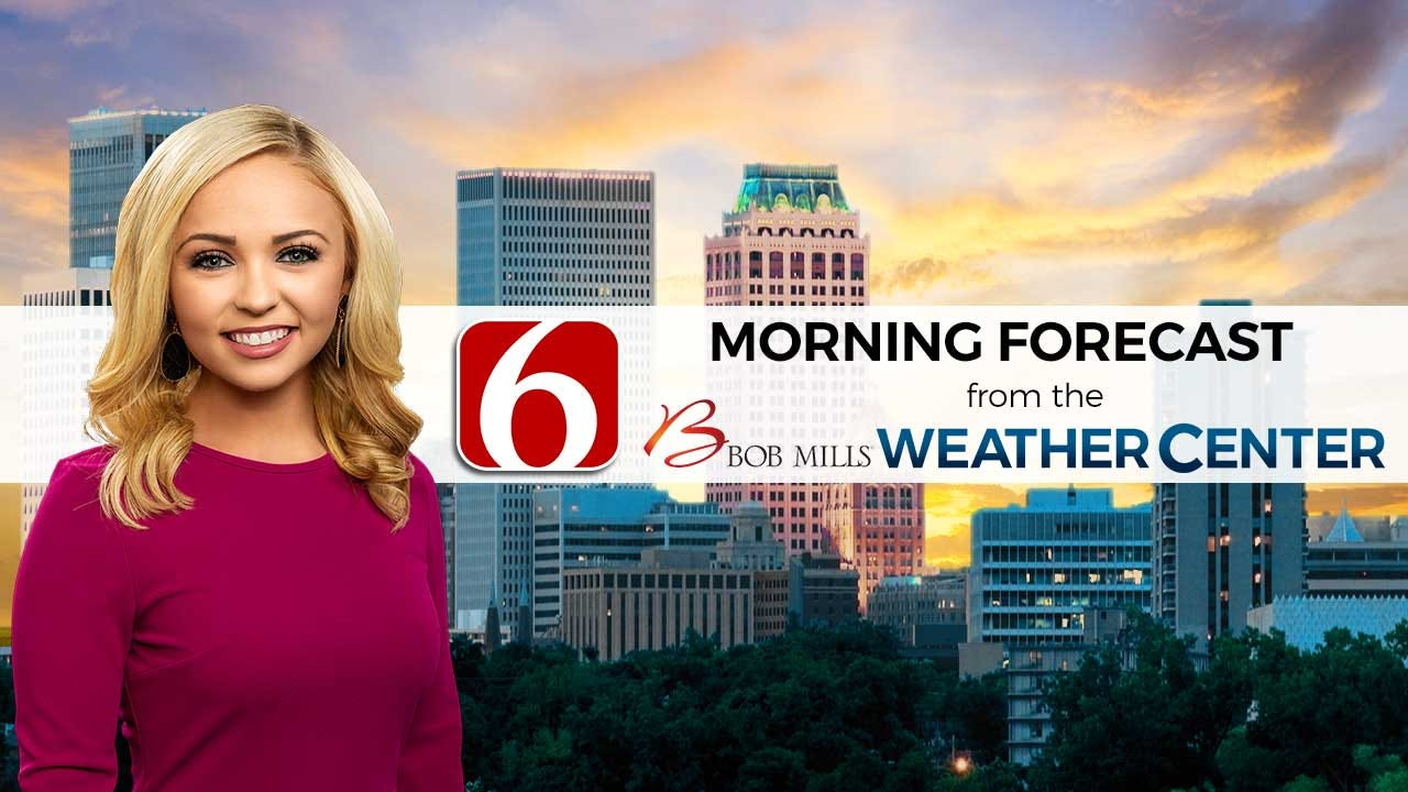 Sunday Mid-Morning Forecast With Kendall Smith
