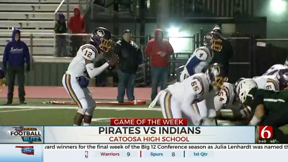 Game Of The Week: Bristow Shuts Out Catoosa