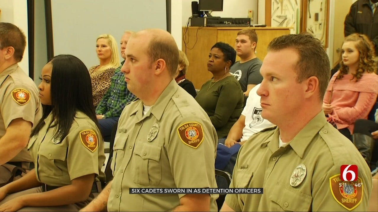 Tulsa County Sheriff's Office Graduates 6 New Detention Officers