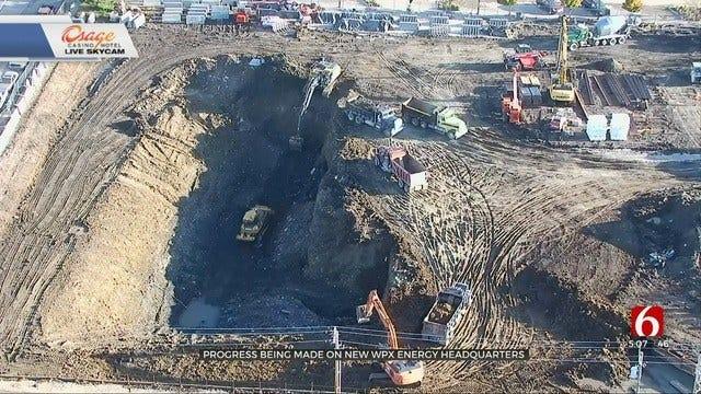 Progress Underway On Tulsa's WPX Energy Headquarters