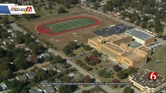 WATCH: Tulsa's Will Rogers High School To Soon Have A New Stadium