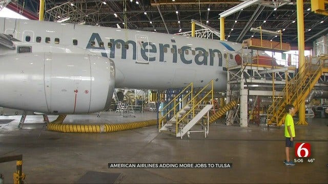 American Airlines Hiring 165 Employees For Tulsa Maintenance Base