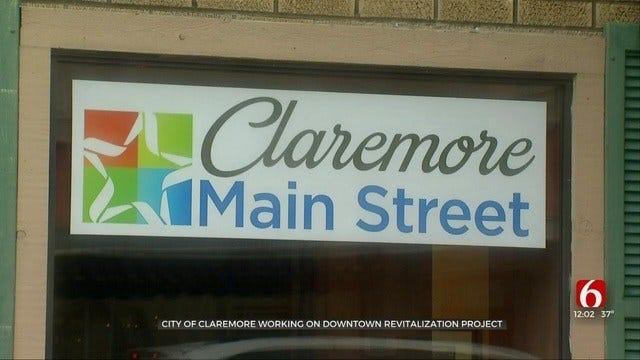 Claremore Works To Make Downtown More Pedestrian Friendly