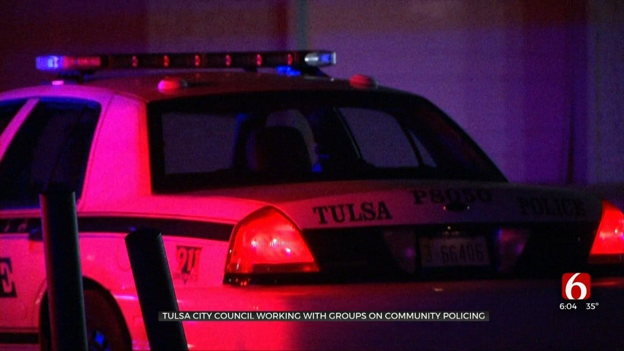 Tulsa City Council Working With Groups On Community Policing