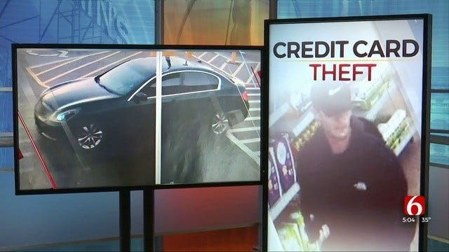 Tulsa Police: Surveillance Video Shows Man Using Stolen Credit Cards