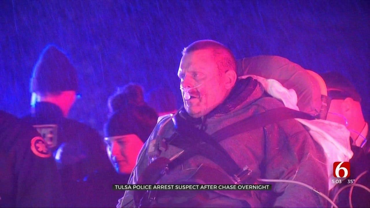 WATCH: Tulsa Police Arrest Robbery Suspect After Short Case