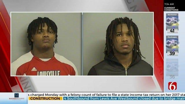 Tulsa Police: 2 University of Tulsa Football Players Arrested